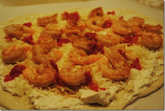 shrimp pizza raw