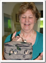 lorraines owl bag