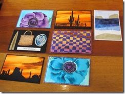 Marianne Textile Art Postcards