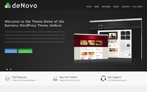 Professional WordPress Themes for Business Websites