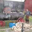 Loimaan Sarka-museon Kullervo-lokomobiili.