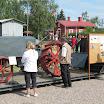 Markku Lyhdyn harvinainen Kullervo-traktori oli kaivettu osina maan sisältä ja korjattu lähes ajokuntoiseksi.