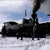 Luminen Ruskajuna Minkiön asemalla. Kuva: Teemu Virtanen