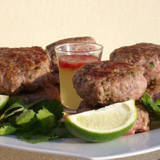 Vietnamese Pork Patties With Dipping Sauce