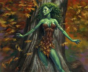 Elven Dryad
