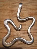 colgante forma libre   Joyas de Bisutería con pasta de plata