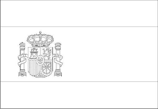 Banderas de espa a para colorear banderas comunidades autonomas de espa a para colorear - Drapeau espagnol a colorier ...