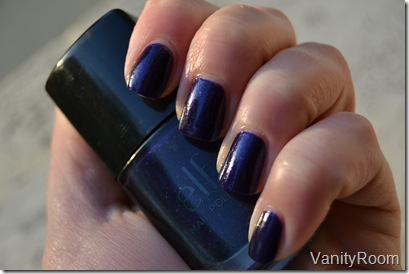 dark glitter purple