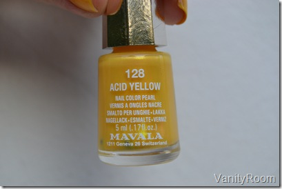 128 acid yellow