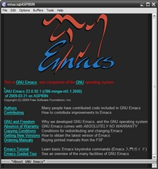 NTEmacs 23.0.92 20090331