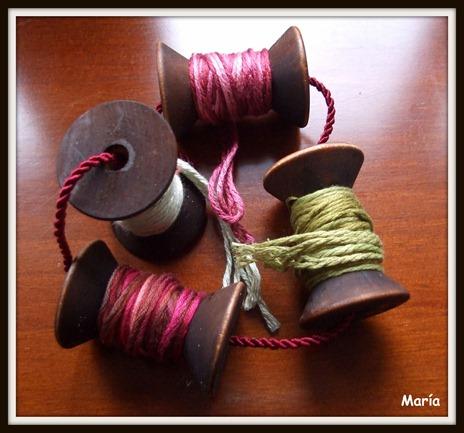 Porta bobinas rosas-3