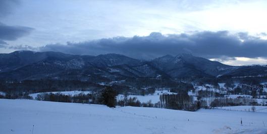 Вид на долину Арбаса