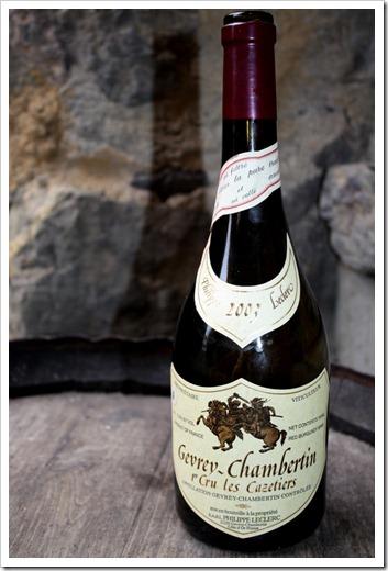 Gevrey-Chambertin 1er Cru Les Cazetiers 2003