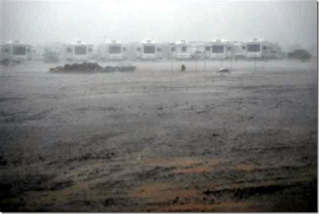 Quartzsite rain 2010