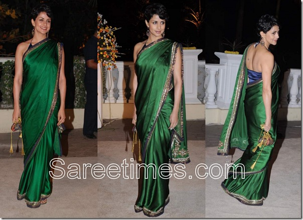 Gul_Panag_Green_Saree