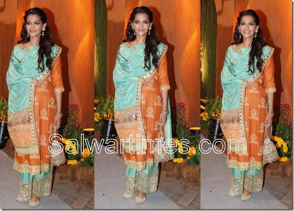 Sonam_Kapoor_Orange_Designer_Salwar_Kameez