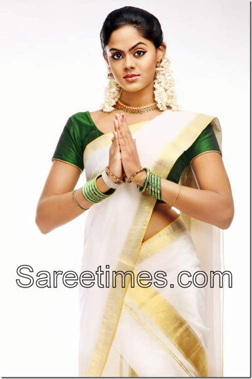 Karthika-Nair-in-Saree