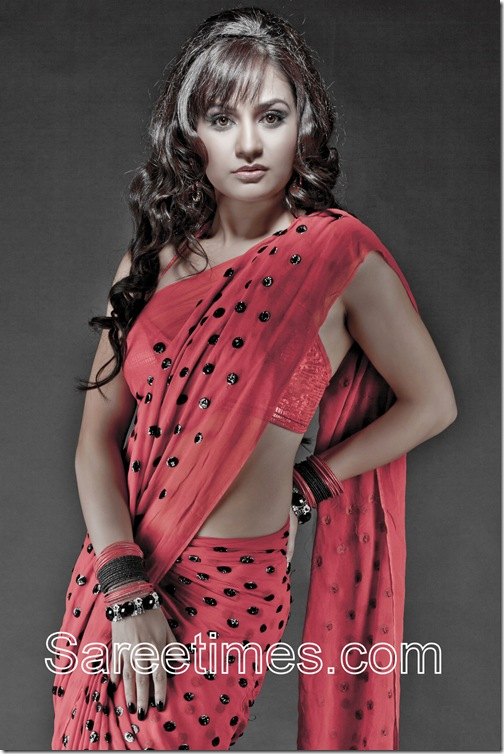 Liza_Malik_Red_Saree