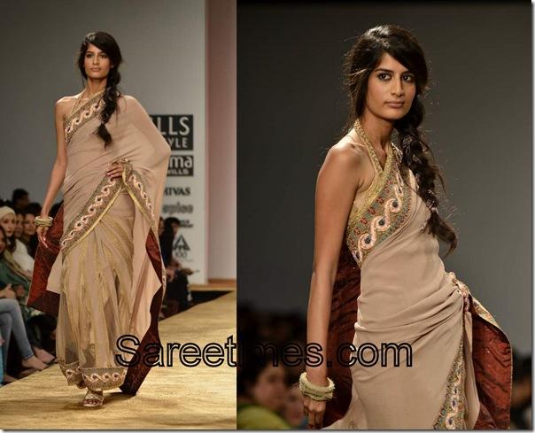 Kavita_Bhartia_Tan_Designer_Saree
