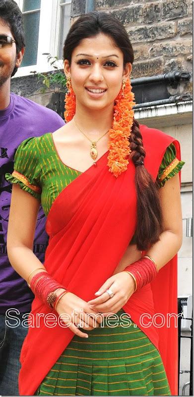 Nayanthara_Half_Saree