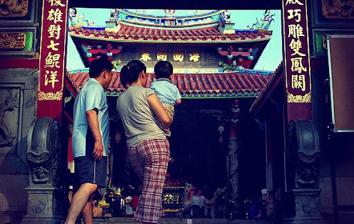 台南 大天后宮 孔廟 神農街