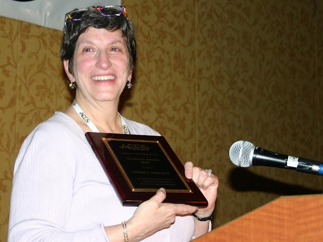 Glamann Prize winner: Merrill Perlman