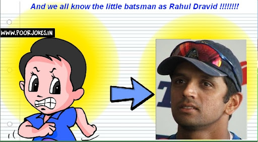 And that little batsman grew up to become... guess who!