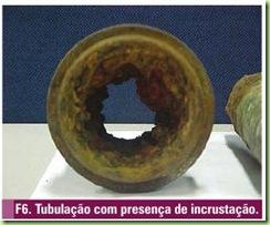 Incrustação em tubulação