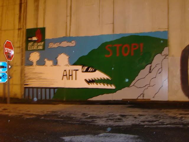 Bakaikuko murala zena, autobia horma batean