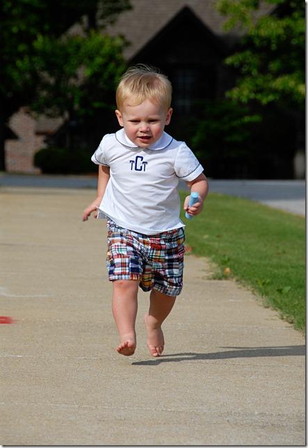Troy running