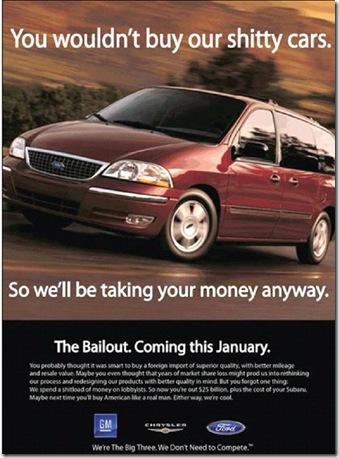 autos bailout joke