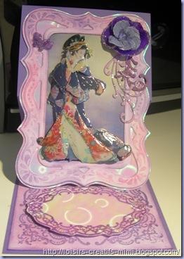 Carte chevalet 3D japonaise