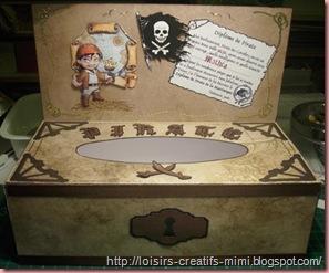 boite à mouchoir pirate