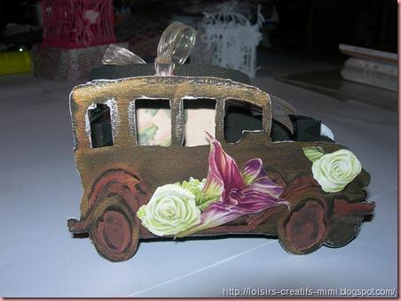 carte voiture mariage