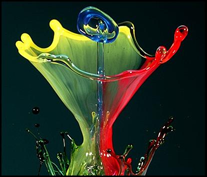 Arte com água - foto de arte com água