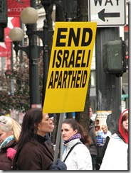 St.Pats Day and Gaza protest 036