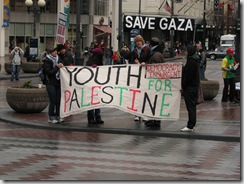 St.Pats Day and Gaza protest 017