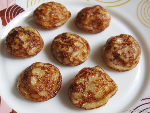 Sweet Paddu or Paniyaram