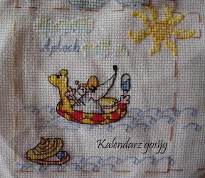 Mysz na kalendarzu Gosijg