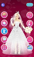 Screenshot of Dress up-Bride
