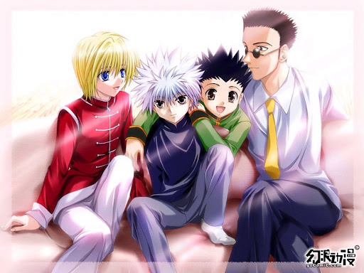 Labels: Hunter X Hunter