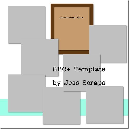 Jess Scraps Templates - Page 005