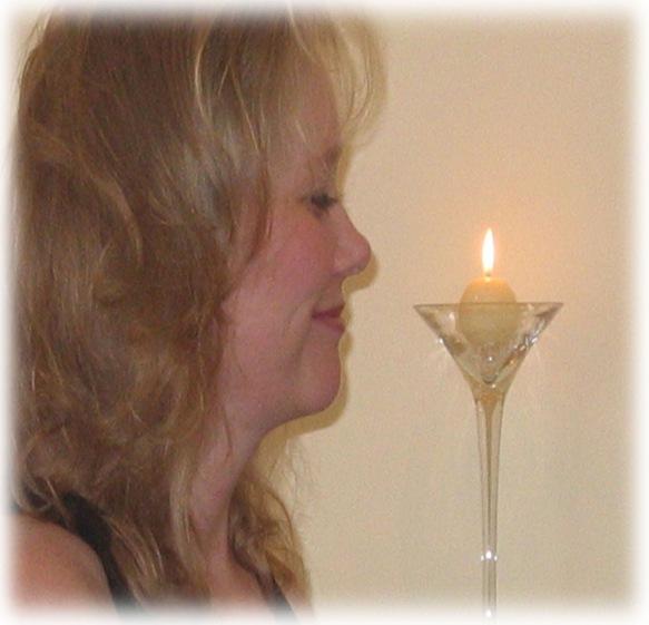 Kim at Candle