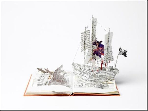 Esculturas com livros (21)