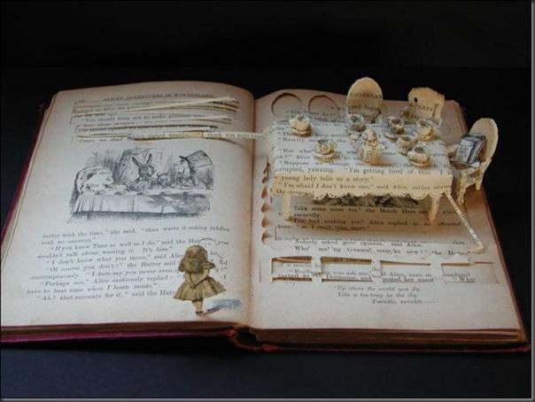 Esculturas com livros (7)