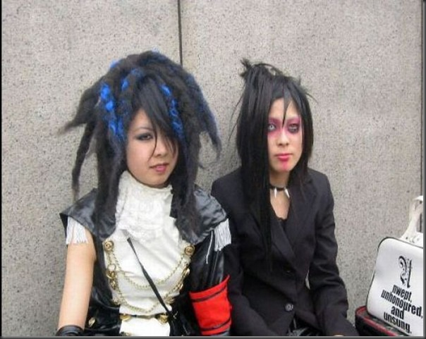 Garotas góticas no Japão (2)