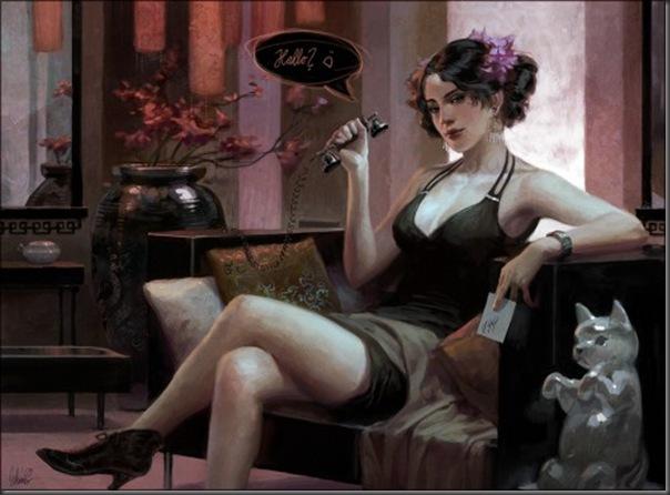39 maravilhosas pinturas digitais de Jana Schirmer (5)