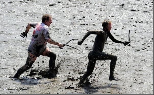 Olimpiadas alemã na lama 2010 (1)