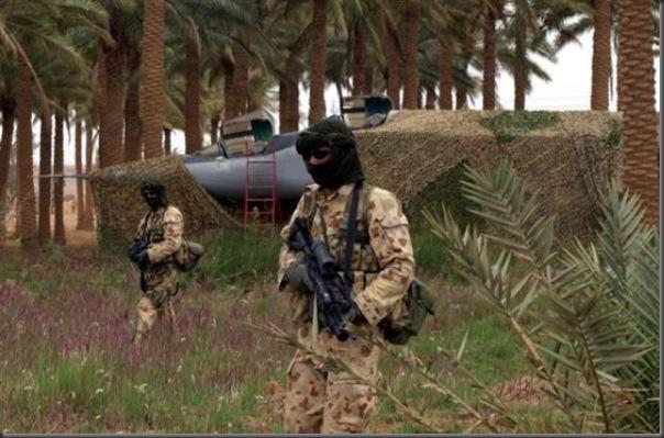 Fotos de forças especiais de diferentes países em ação (1)