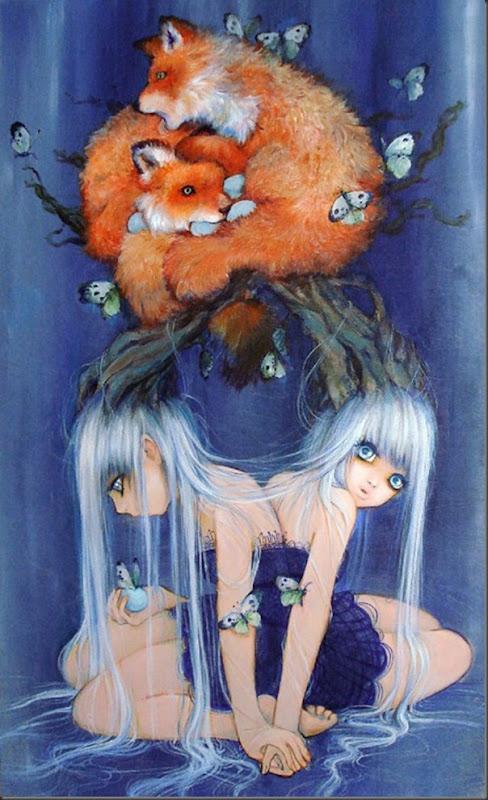 Lindas pinturas de Camilla d'Errico (10)